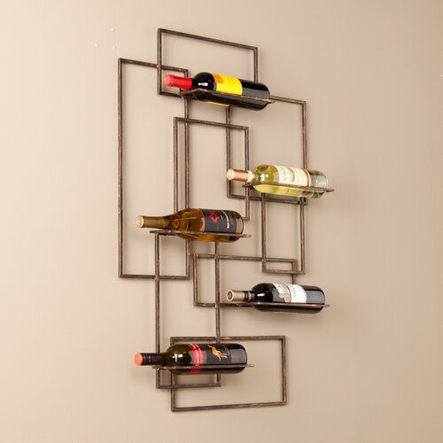 wildon home declan wall mount wine rack reviews wayfair