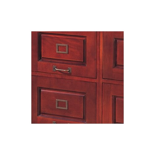 Wildon Home ® Cherry 2-Drawer Parkdale File
