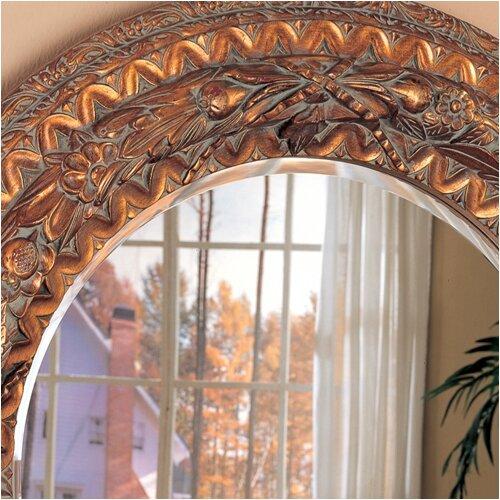 Wildon Home ® Tacoma Beveled Round Mirror