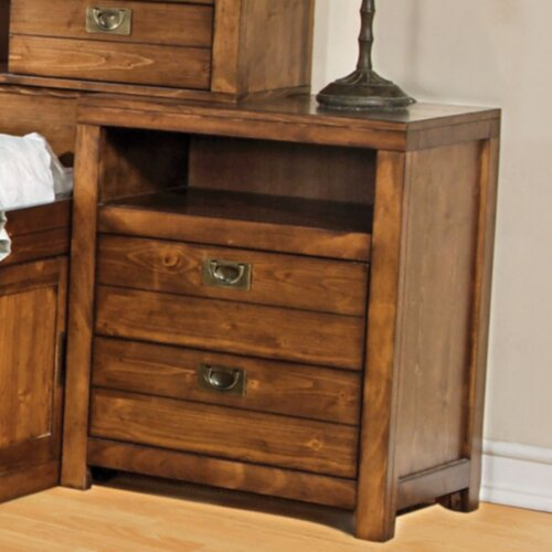 Wildon Home ® 2 Drawer Nightstand