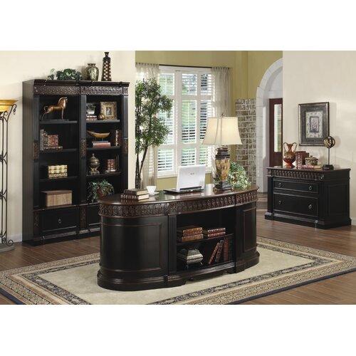 Wildon Home ® Troy Executive Desk Office Suite
