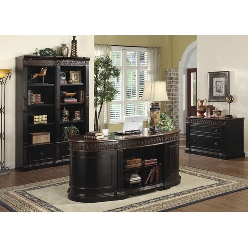 Wildon Home ® Troy Standard Desk Office Suite