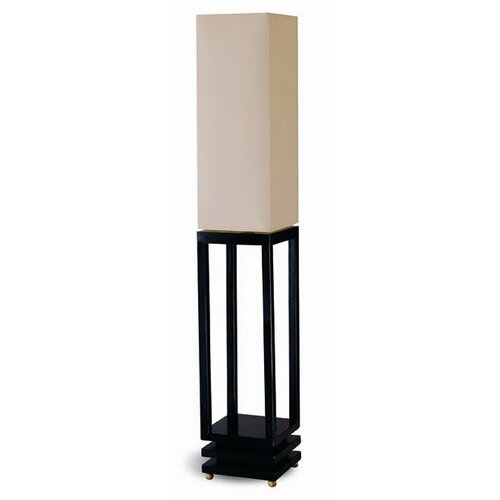"Wildon Home ® 39"" H Table Lamp with Square Shade"