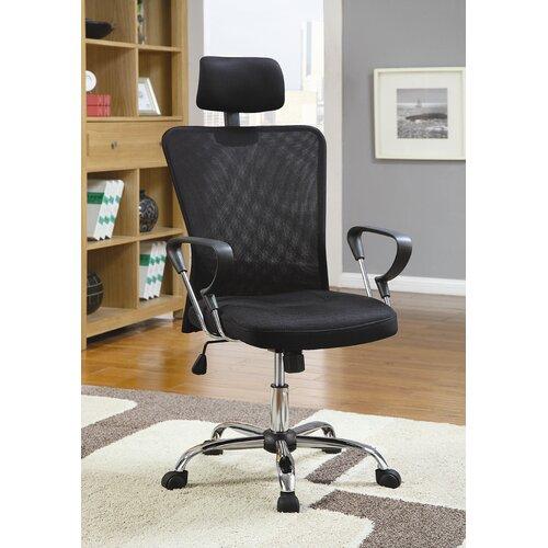 Wildon Home ® Rochester Air High-Back Mesh Executive Chair