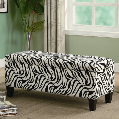 Wildon Home ® Oak Valley Upholstered Storage Bench