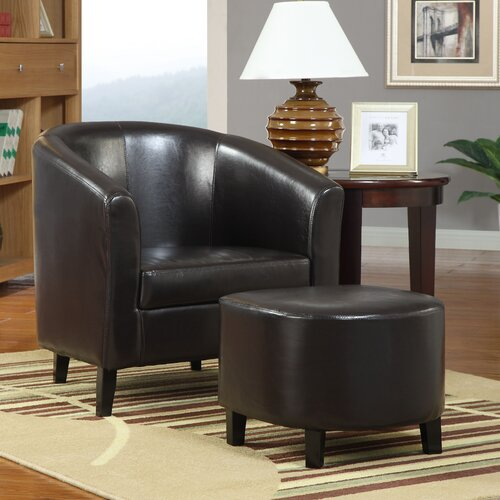 Wildon Home ® San Saba Chair and Ottoman
