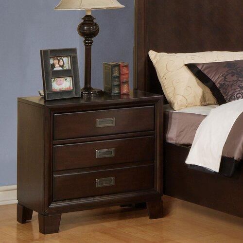 Wildon Home ® Bellwood 3 Drawer Nightstand