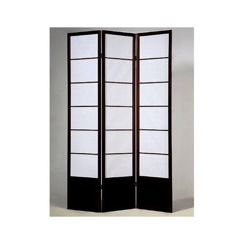 "Wildon Home ® 70"" x 54"" 3 Panel Room Divider"