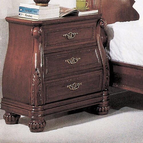 Wildon Home ® Sierra 3 Drawer Chest