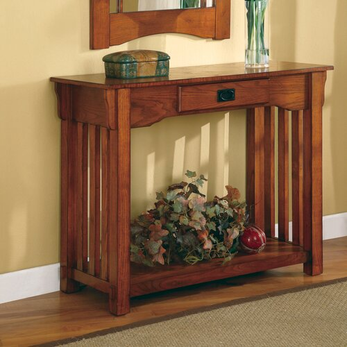 Burien Console Table and Mirror Set