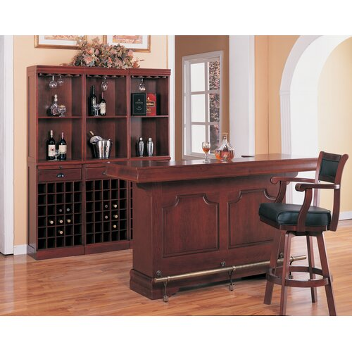 """Wildon Home ® Tiernan 29"""" Swivel Bar Stool"""