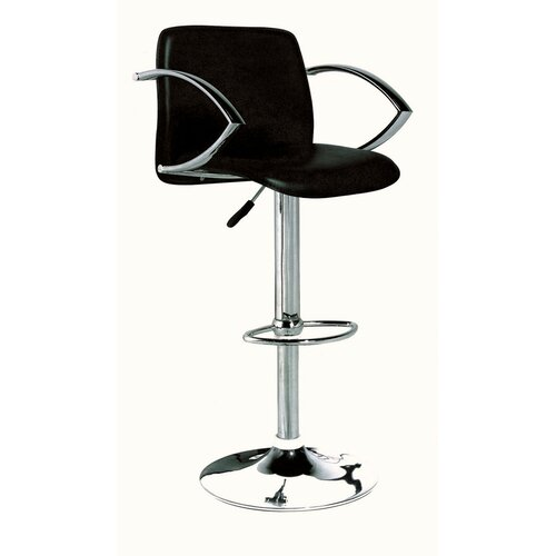 Contemporary Adjustable Bar Stool (Set of 2)