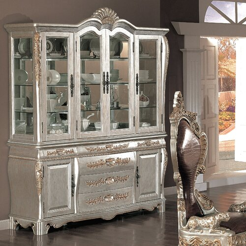 Wildon Home ® Melamed China Cabinet