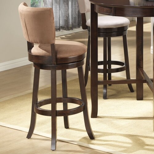 Wildon Home 174 Groom Adjustable Height Bar Stool With