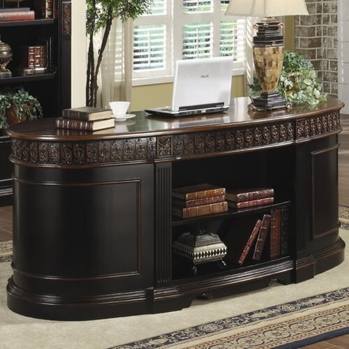 Wildon Home ® Troy Oval Executive Desk