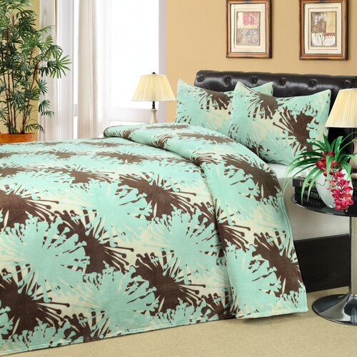 Wildon Home ® Olympia Microplush 3 Piece Bedding Set