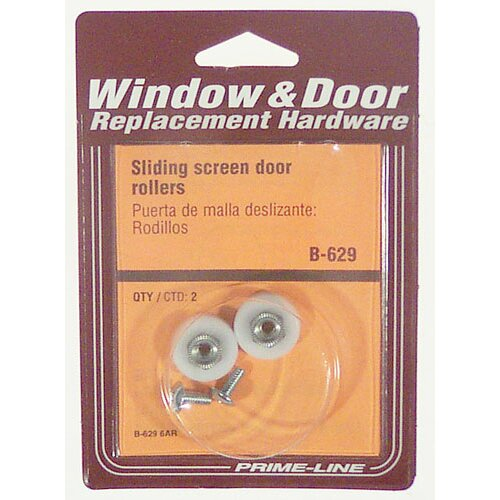 PrimeLine Sliding Screen Door Roller Set Of 2