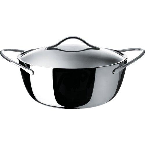 Alessi Domenica Stainless Steel Round Casserole