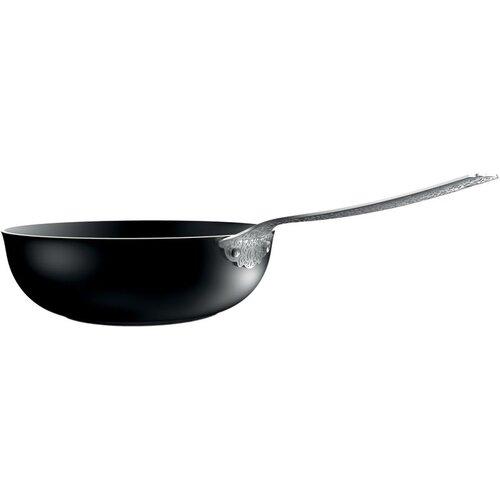 """Alessi Dressed 11"""" Deep Frying Pan"""