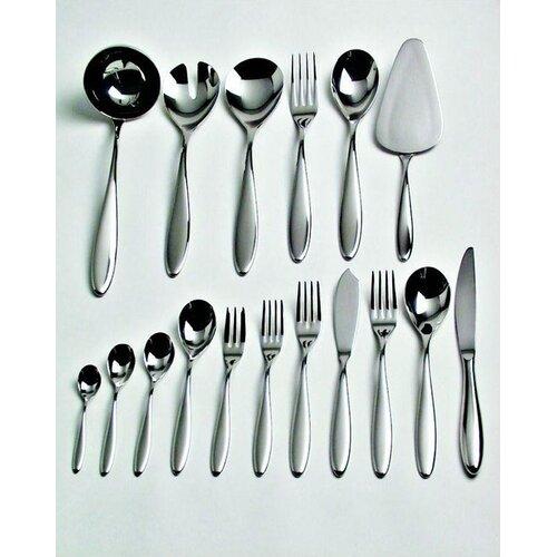 Alessi Caccia Dessert Fork by in Mirror Polished Luigi Caccia Dominioni