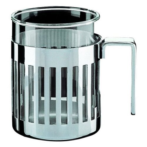 Alessi Aldo Rossi 12.5 oz. Mug with Heat Resistant Glass