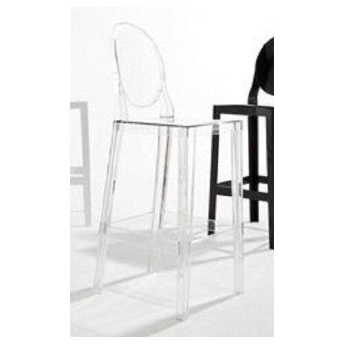 """Kartell """"One More, One More Please"""" Barstool with Oval Back"""