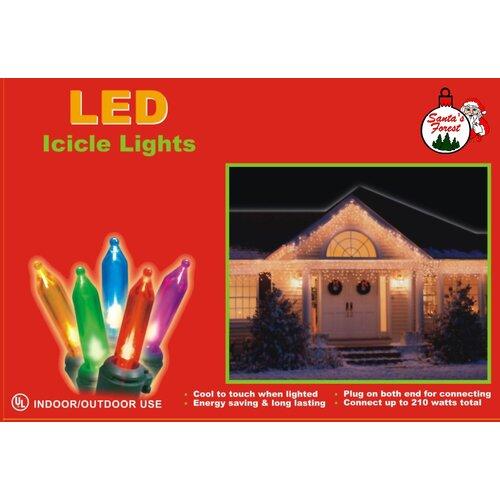 LED 70 Count Mini Icicle Lights