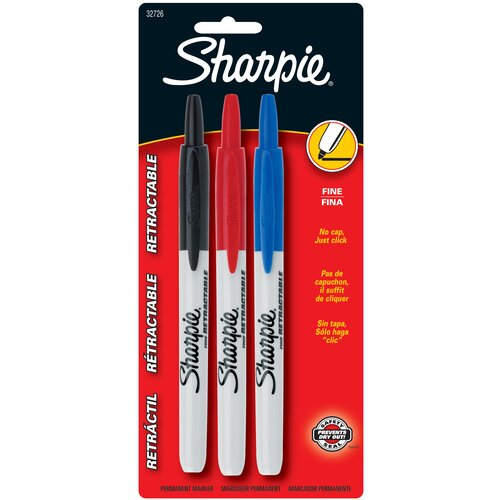 Sharpie Assorted Colors Sharpie (3 Pack)