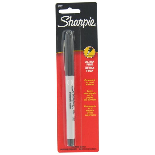 Black Ultra Fine Point Sharpie Permanent Marker (Set of 6)