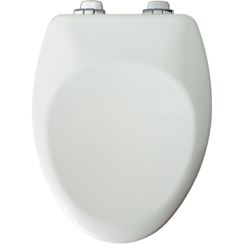 Residential High Density Wood Elongated Toilet Seat