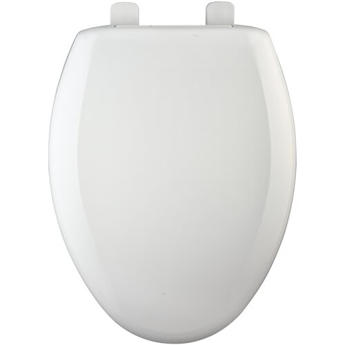 Bemis Hospitality Heavy-Duty Plastic Elongated Toilet Seat