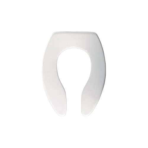 Extra Heavy Weight Plastic Commercial Elongated Toilet Seat