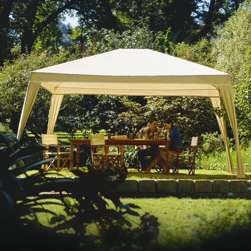 "Coolaroo Isabella 8' 2"" H x 12' W x 10' D Folding Gazebo with Carry Bag"