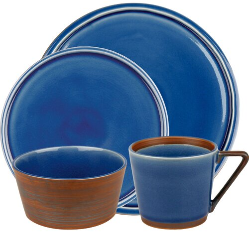 Pure Nature 16 Piece Dinnerware Set