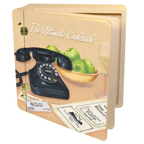 Home and Garden Ultimate Cookbook Memory Box