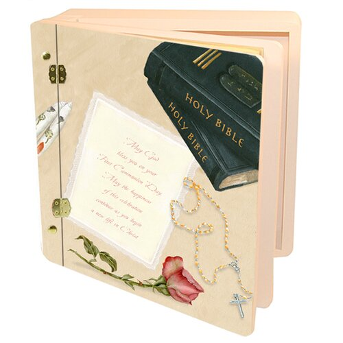 Children and Baby Her First Communion Memory Box