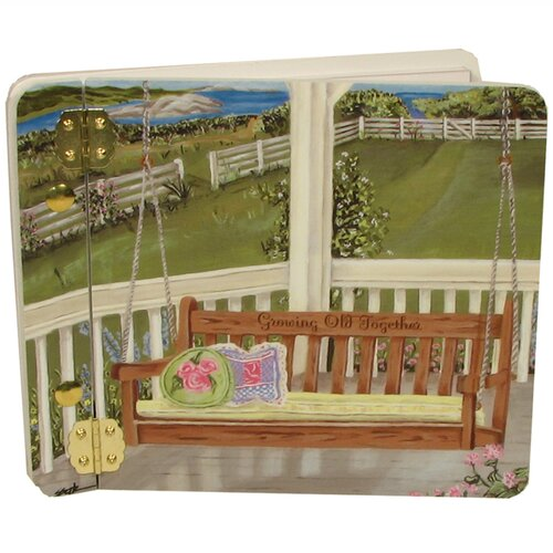 Lexington Studios Home and Garden Porch Swing Mini Book Photo Album