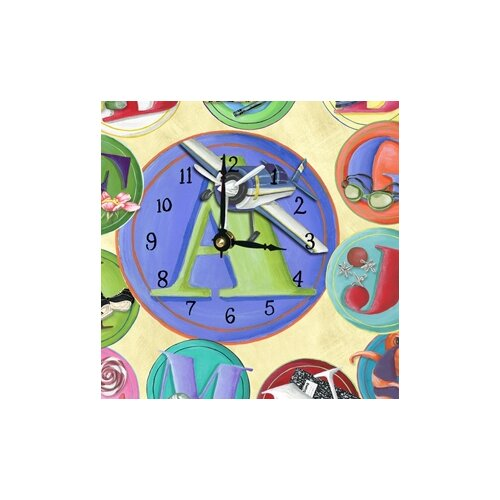 Lexington Studios ABC's Wall Clock