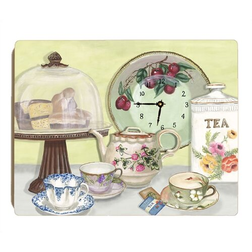 Lexington Studios English Tea Wall Clock