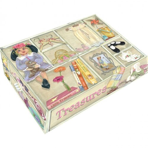 Isabella's Treasures Large Hinge Box