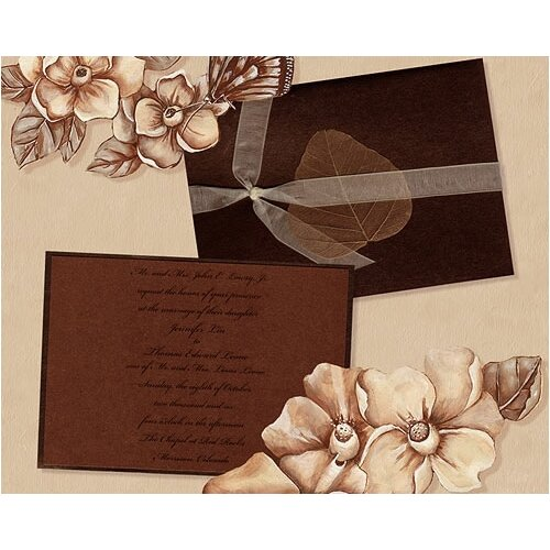 Lexington Studios Wedding Magnolias Large Book Photo Album