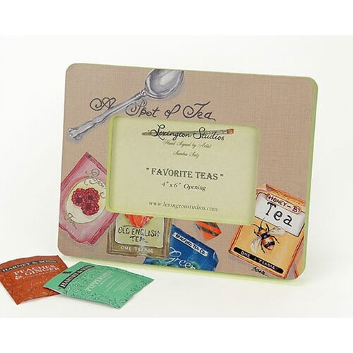 Home and Garden Favorite Teas Small Picture Frame