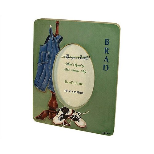 Children and Baby's Brads Jeans Small Picture Frame