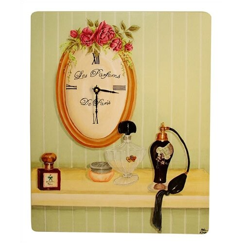 Lexington Studios Home and Garden Perfumes of Paris Wall Clock