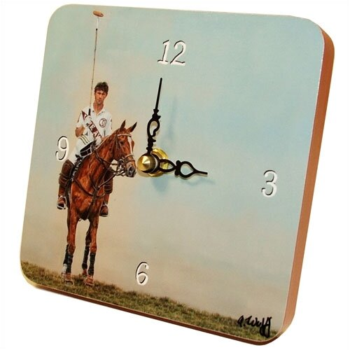 Sports Polo Tiny Times Clock