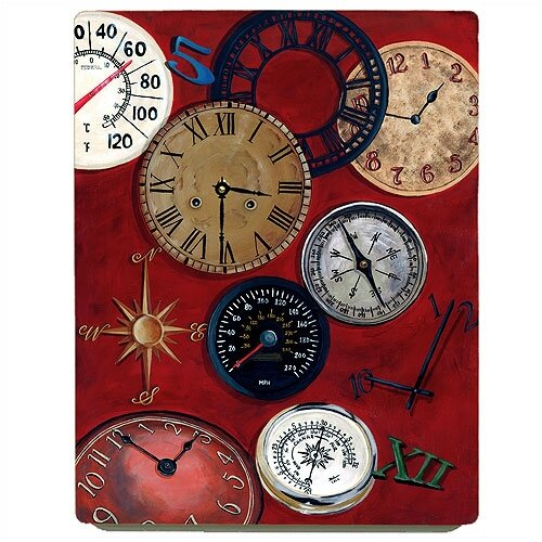 Lexington Studios Home and Garden Measurement in Time Wall Clock