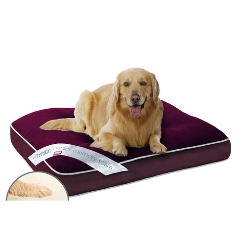 Simmons Pet Products Comforpedic Deluxe Napper Dog Pillow with Orthopedic