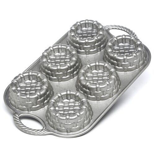 Nordicware Platinum Shortcake Baskets Pan