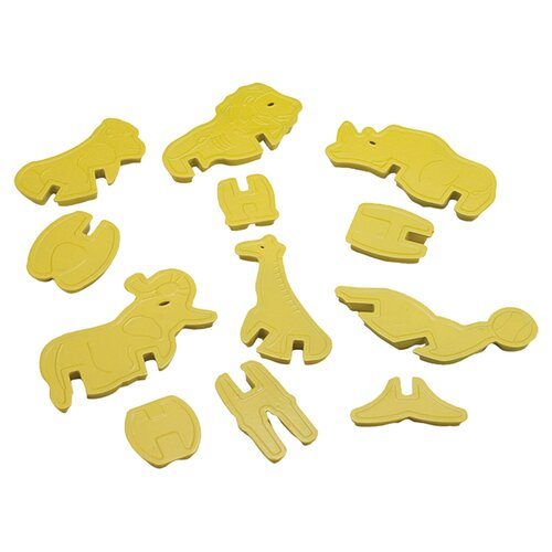 Nordicware Kitchenware Zoo Animal 3D Cookie Cutter Set
