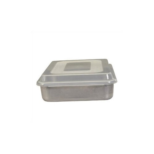 "Nordicware Natural Commercial 9"" Square Cake Pan with Lid"